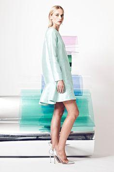 Nonoo | Resort 2015 Collection | Style.com short mint green dress