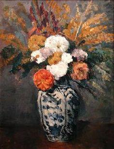 Paul Cézanne - Dahlias
