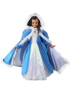 Girls Crystal Blizzard Queen Cape Costume L 10 *** Find out more about the great product at the image link-affiliate link