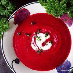 Lempeän mausteinen ja värikäs punajuurikeitto sopii syksyyn | PALEOKEITTIÖ