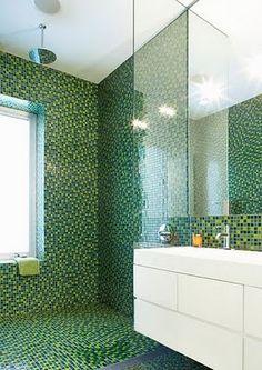 Love the mosaic tile