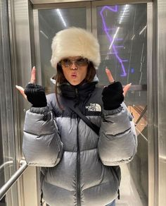 Snow Outfit, Donia, Winter Fits, Alternative Outfits, Looks Cool, Canada Goose Jackets, Winter Fashion, Street Wear, Cute Outfits