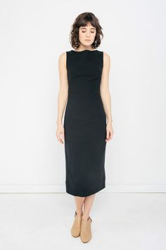ELISE DRESS IN STRETCH COTTON  $ 255.00