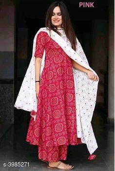 Classy Rayon Women's Kurta Sets Vol 14 Fabric: Kurti - Rayon, Palazzo - Rayon, Duppata: Rayon Sleeves: Sleeves Are Included Size: Kurta . Salwar Designs, Kurta Designs Women, Kurti Designs Party Wear, Latest Salwar Kameez Designs, Casual Indian Fashion, Indian Fashion Dresses, Dress Indian Style, Simple Kurta Designs, Stylish Dress Designs