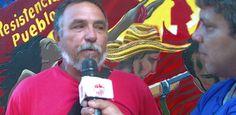 Romulo Undas declarando para Aporrea sobre la aparición de fosas comunes en el estado Barinas