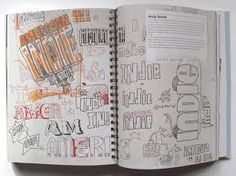 sketchbook typography examples - Google Search
