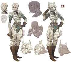 saveroomminibar:  Final Fantasy Type-Zero. Character Art.