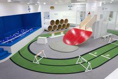 어린이집 유치원 인테리어 - 흥미 재미를 더한 어린이 체육 놀이공간 인테리어 : 네이버 블로그