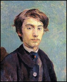 Emile Bernard - Pintura de Henri Toulouse-Lautrec - 1886
