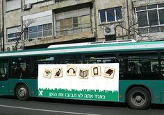 קומפיין אגד, עבודה בזוגות: שלט                                                     של אוטובוס בצד