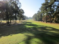 The par 5 number 4 is long and straight uphill.