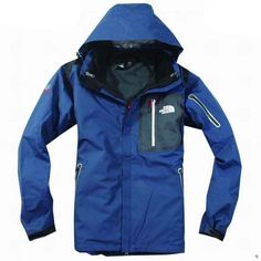 Mens The North Face Triclimate 3 In 1 Jacket Navy Black