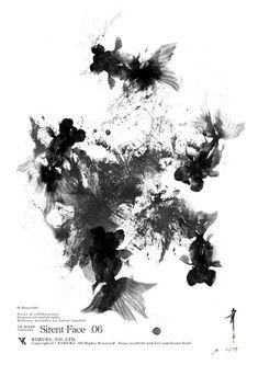文字(書)画「金魚_sf6_1/77」[幸彦]   ART-Meter
