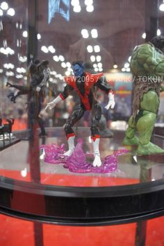 http://comics-x-aminer.com/2012/10/12/diamond-select-toys-nycc-12-display-star-trek-and-marvel/
