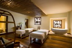 spa rooms | Bamboo Spa Room