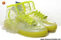 cheap for discount b6a8f ee616 en ligne Adidas X Jeremy Scott Wings Clear Chaussures Vert Jeremy Scott  Wings, Nike Kd