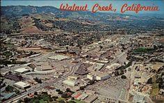 Walnut Creek California Vintage Postcards & Images