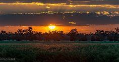 Sunset #sunset #visitqld #clouds #skyporn #sky #rural #ruralqld #sky