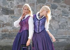 lilla drakt Going Out Of Business, Bridal Crown, Scandinavian, Two By Two, Costumes, Traditional, Sewing, Clothes, Beauty