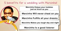 What are the 5 benefits to marry you?