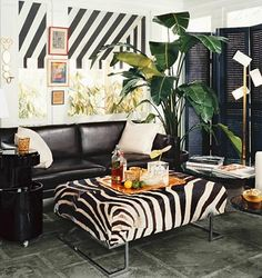 swooning over black + white stripes
