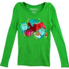 PS4U Girls Green Owl T-Shirt PS4UT (S(8)) p.s. from aeropostale http://www.amazon.com/dp/B00J8NO01A/ref=cm_sw_r_pi_dp_kBaRub18GXDJ9