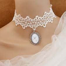 Exhilarating Jewelry And The Darkside Fashionable Gothic Jewelry Ideas. Astonishing Jewelry And The Darkside Fashionable Gothic Jewelry Ideas. Cameo Jewelry, Bead Jewellery, Gothic Jewelry, Beaded Jewelry, Vintage Jewelry, Handmade Jewelry, Gothic Clothing, White Lace Choker, Lace Necklace