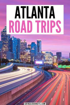 Looking to get away from Atlanta? Why not take one of these amazing Atlanta road trips. Whether it's to north Georgia, the college town of Athens, or to historic Savannah, there are tons of driving vacations you can take from the city. | mountain getaways near atlanta | day trips from atlanta | road trips from atlanta | interesting places near atlanta | atlanta getaways | places to visit near atlanta | weekend getaways from atlanta