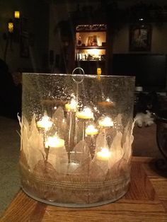 Another great look for the Majestic Hearth Hurricane using tealight #candles. #PartyLite Photo by Diane Luyken