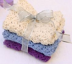 Crochet Dishcloth large by DaniellesCrochetShop on Etsy, $3.50