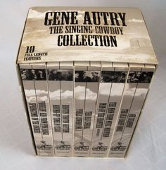 Gene Autry The Singing Cowboy Collection Smiley Burnette 10 Movies VHS Set of 5