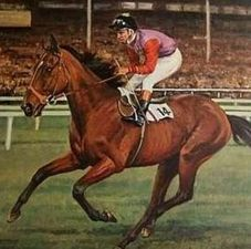 Dunfermline(1974)Royal Palace- Strathcona By St Paddy. 5x5 To Donatello II & Gainsborough. Won Epsom Oaks(Eng-1), St Leger(Eng-1), 2nd Hardwicke S(Eng-2), Fillies M(Eng-3), 3rd Yorkshire Oaks(Eng-1), Prix Royal Oak(Fr-1). Yet Another Of  Queen Elizabeth's II Horse That Won 2/3 Of Eng TC For Fillies.