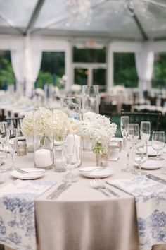 Photography: Katie Lopez Photography - katielopezphotography.com  Read More: http://www.stylemepretty.com/2015/04/21/elegant-toile-inspired-miami-garden-wedding/