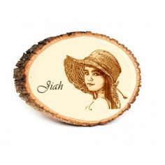 Engraved the quality moments for life in natural wooden beauty! Incredible Gifts is the 1st and only seller in India for this product. This natural round with bark edges and engraved photo and text message makes ideal canvas to gift a personalised photo masterpiece.