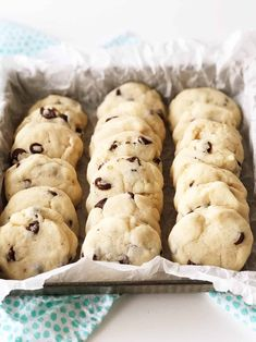 These Condensed Milk Chocolate Chip Cookies taste like a shortbread cookie crossed with a chocolate chip cookie. This recipe is a great way to use up leftover sweetened condensed milk. Condensed Milk Desserts, Condensed Milk Cookies, Sweet Condensed Milk, Sweeten Condensed Milk Recipes, Condensed Milk Biscuits, Milk Chocolate Chip Cookies, Chocolate Chip Biscuits, Galletas Cookies, Sweets
