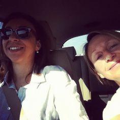 Paola Sucato & Anna Maria Simonini verso Reggiolo nell'Emilia