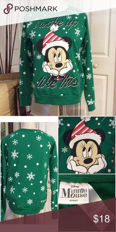 Minnie Mouse Christmas Sweatshirt ️NWOT never worn,  tags are missing. Disney Other