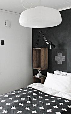 Hermoso dormitorio nórdico DIY