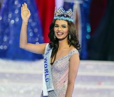Indian medical student Manushi Chhillar wins Miss World 2017 competition