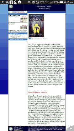 Web page.... Outskirtspress.com/crybabycryornot