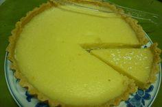 my home made lemon tart