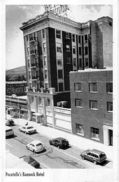 Bannock Hotel, Pocatello Idaho   My mom worked the front desk when I was little. It was a beautiful place in its day.
