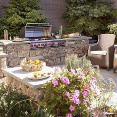 """Exceptional """"built in grill patio"""" info is available on our web pages. Read more and you will not be sorry you did. Backyard Kitchen, Outdoor Kitchen Design, Backyard Bbq, Patio Design, Grill Design, Outdoor Kitchens, Backyard Ideas, Barbecue Design, Kitchen Grill"""