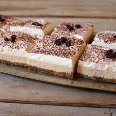 Kávovo-tvarohový cheesecake