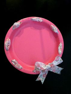 Belle Fête: DIY Birthday Paper Plates  Bday #4!