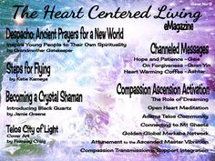 Read this emagazine for FREE! Meditations, visualizations, instructions for creating a new world...
