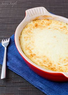 This light and creamy Corn Gratin is a perfect warm side dish on a chilly night.
