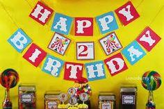 circus themed birthday - Google Search