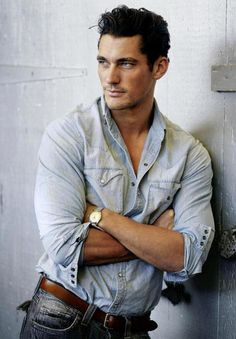 Gandy. Good lord - he can't take a bad pic anyway but this one - whew, where's my fan!