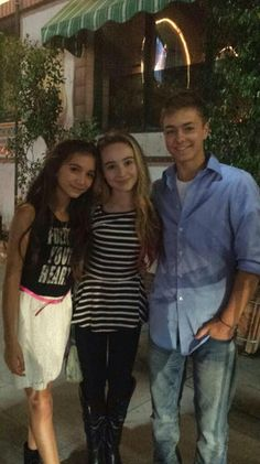 "Fanlala Talked With Rowan Blanchard, Sabrina Carpenter and Peyton Meyer About Their ""Girl Meets World"" Characters"